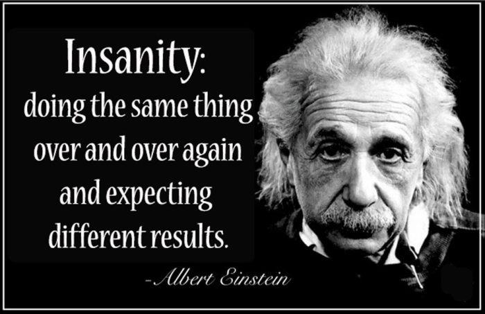 insanity アルバート アインシュタイン rupa sensei